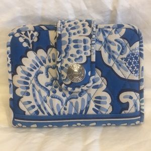 Vera Bradley Blue Lagoon wallet